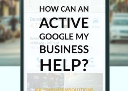 How can an active Google My Business Help